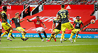 Football - 2019 / 2020 Premier League - Manchester United vs Southampton<br /> <br /> Anthony Martial of Manchester United scores at Old Trafford<br /> <br /> COLORSPORT/LYNNE CAMERON