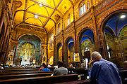 Belo Horizonte_MG, Brasil...Igreja Sao Jose, uma igreja em estilo manuelino localizada no centro de Belo Horizonte, em Minas Gerais. ..Sao Jose Church, a church in manuelino style located in downtown in Belo Horizonte, Minas Gerais...Foto: NIDIN SANCHES / NITRO
