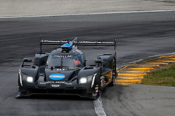 January 26, 2019 - Daytona, FL, U.S. - DAYTONA, FL - JANUARY 26: The #10 Konica Minolta Cadillac DPi-V.R. Cadillac DPi of Renger Van Der Zande, Jordan Taylor, Fernando Alonso, and Kamui Kobayashi during the Rolex 24 at Daytona on January 26, 2019 at Daytona International Speedway in Daytona Beach, Fl. (Photo by David Rosenblum/Icon Sportswire) (Credit Image: © David Rosenblum/Icon SMI via ZUMA Press)