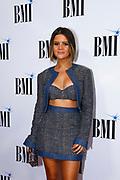 Maren Morris arrives at the BMI Awards at BMI Nashville on Tuesday, Nov. 7, 2017, in Nashville, Tenn. (Photo by Wade Payne/Invision/AP)