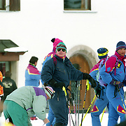 AUT/Lech/19940209 - Kroonprins Willem - Alexander in Lech