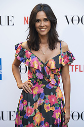 September 13, 2018 - Madrid, Spain - Alba Lago attends to photocall of Vogue Fashion Night Out 2018 in Madrid, Spain. September 14, 2018. (Credit Image: © Coolmedia/NurPhoto/ZUMA Press)