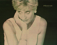 A still from the controversial video by Alison Jackson entitled Diana which shows a lookalike of the Princess eating chocolate and making a provocative gesture. The video is part of Polstar Vodka arts programme being run by Festival Revue and Worldart.com at Princes Street Gardens where the video is dispayed to audiences on giant screens. .......