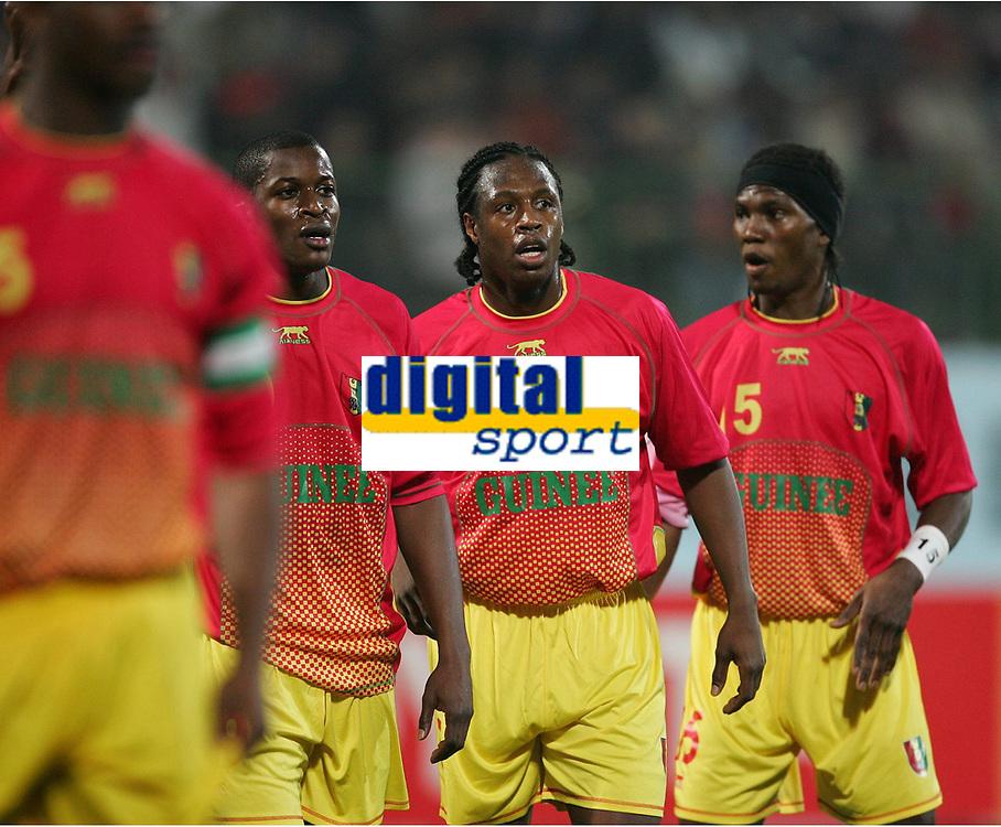 v.l. Ricardo Katza, Ismael Bangoura Guinea<br /> Africa Cup 2006 Suedafrika - Guinea<br /> Sør-Afrika<br /> Norway only