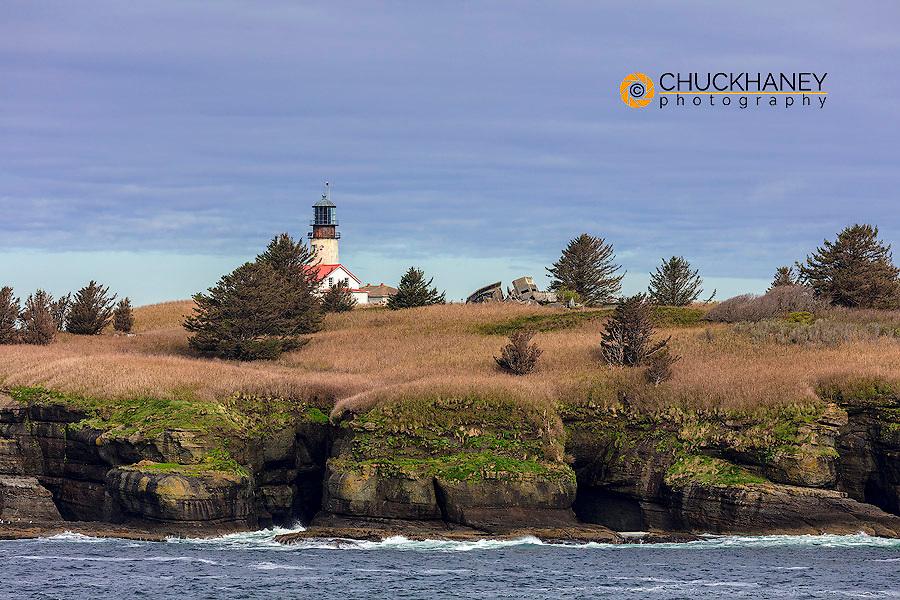 Lighthouse on Tatoosh Island near Neah Bay, Washington, USA