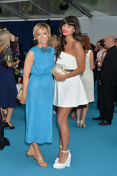 Left to right, JO ELVIN and JAMEELA JAMIL at the Glamour Women of The Year Awards held in Berkeley Square, London on 2nd June 2015.