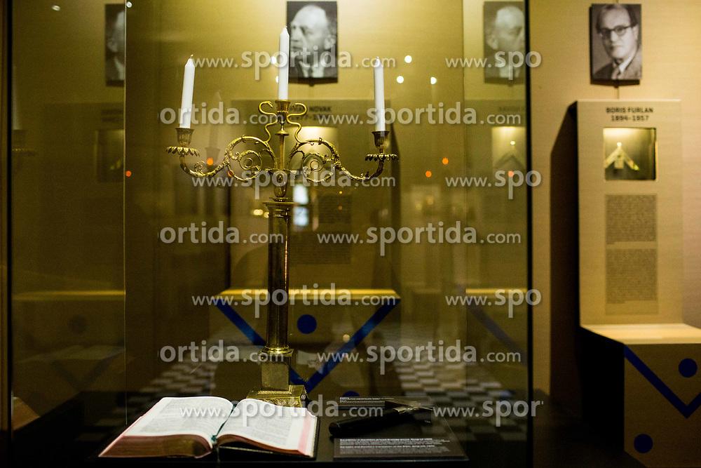 Prostozidarska razstava v Narodnem muzeju, replika templja<br /> // Exhibition of Freemasonry in Slovenia and press conference organised by Grand Lodge of Slovenia, on March 17, 2017 in Narodni muzej Slovenije, Ljubljana, Slovenia. Photo by Vid Ponikvar / Sportida