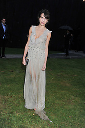 CAROLINE SIEBER at the annual Serpentine Gallery Summer Party sponsored by Burberry held at the Serpentine Gallery, Kensington Gardens, London on 28th June 2011.