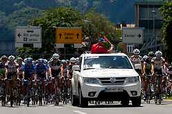 Offical start during 1st Stage (164 km) at 19th Tour de Slovenie 2012, on June 14, 2012, in Celje, Slovenia. (Photo by Matic Klansek Velej / Sportida)