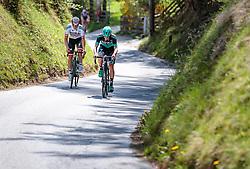 25.04.2018, Innsbruck, AUT, ÖRV Trainingslager, UCI Straßenrad WM 2018, im Bild Gregor Mühlberger (AUT), Patrick Konrad (AUT) // during a Testdrive for the UCI Road World Championships in Innsbruck, Austria on 2018/04/25. EXPA Pictures © 2018, PhotoCredit: EXPA/ JFK