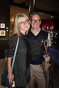 SUZANNE TROCME; MICHAEL JANKOWSKI, The preview of LAPADA Art and Antiques Fair. Berkeley Sq. London. 21 September 2015.