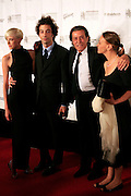 Agyness Deyn, Albert Hammond Jr., Albert Hammond and wife, Claudia Fernadez  at The 2008 Songwriters Hall of Fame Awards Induction Ceremony held at The Marriott Marquis Hotel on June 19, 2008 ..The Songwriters Hall of Fame celebrates songwriters, educates the public with regard to their achievements, and produces a spectrum of professional programs devoted to the development of new songwriting talent through workshops, showcases and scholarships. The sonwriters Hall of Fame was founded in 1969 by songwriter Johnny Mercer and publishers Abe Olman and Howie Richardson