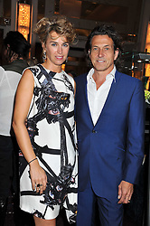 STEPHEN & ASSIA WEBSTER at the launch of Stephen Webster Bijoux Tea held at the Langham Hotel, Portland Place, London on 13th September 2011.