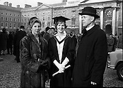 Degrees at Trinity College Dublin. Miss Elizabeth Williamson..06.12.1962