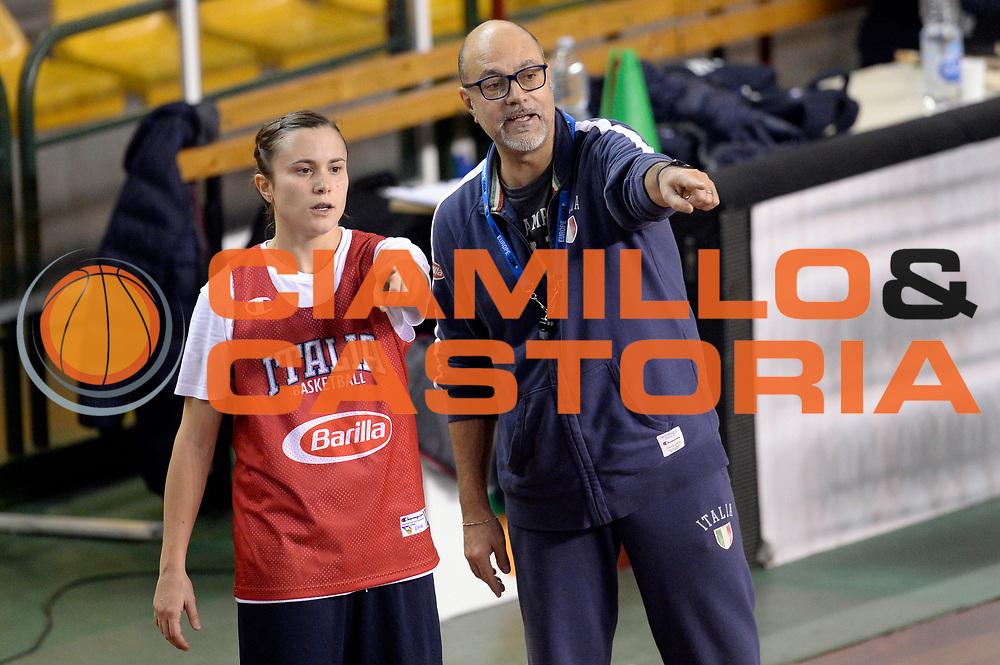 DESCRIZIONE : Lucca Allenamento Nazionale Femminile Senior<br /> GIOCATORE : Giovanni Lucchesi Giulia Gatti<br /> CATEGORIA : allenamento<br /> SQUADRA : Nazionale Femminile Senior<br /> EVENTO : Allenamento Nazionale Femminile Senior<br /> GARA : Allenamento Nazionale Femminile Senior<br /> DATA : 19/11/2015<br /> SPORT : Pallacanestro<br /> AUTORE : Agenzia Ciamillo-Castoria/Max.Ceretti<br /> GALLERIA : Nazionale Femminile Senior<br /> FOTONOTIZIA : Lucca Allenamento Nazionale Femminile Senior<br /> PREDEFINITA :