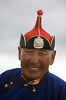 """Portrait, Mongolia, North East Mongolia, Nadaam, <br /> Available as Fine Art Print in the following sizes:<br /> 08""""x12""""US$   100.00<br /> 10""""x15""""US$ 150.00<br /> 12""""x18""""US$ 200.00<br /> 16""""x24""""US$ 300.00<br /> 20""""x30""""US$ 500.00"""