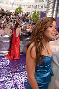 Nikki Sanderson. The 2005 British Soap Awards, BBC TV Studios. London. May 7 2005. ONE TIME USE ONLY - DO NOT ARCHIVE  © Copyright Photograph by Dafydd Jones 66 Stockwell Park Rd. London SW9 0DA Tel 020 7733 0108 www.dafjones.com