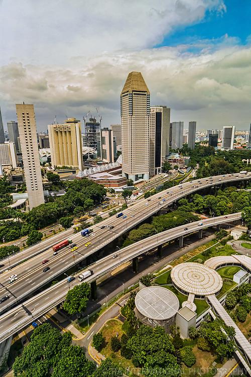 Marina Bay North from Singapore Flyer Ferris Wheel (2)