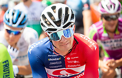 Aljaz OMRZEL of ADRIA MOBIL during 1st Stage of 27th Tour of Slovenia 2021 cycling race between Ptuj and Rogaska Slatina (151,5 km), on June 9, 2021 in Slovenia. Photo by Vid Ponikvar / Sportida
