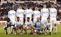Fotball<br /> Foto: Dppi/Digitalsport<br /> NORWAY ONLY<br /> <br /> FOOTBALL - UEFA CUP 2005/2006 <br /> <br /> CSKA MOSKVA v OLYMPIQUE DE MARSEILLE - 20/10/2005<br /> <br /> MARSEILLE TEAM (BACK ROW LEFT TO RIGHT: MAMADOU NIANG / LORIK CANA / ISMAILA TAIWO / DEMETRIUS FERREIRA / BOSTJAN CESAR / ANDRE LUIS. FRONT ROW: WILSON ORUMA / HABIB BEYE / SABRI LAMOUCHI / FABIEN BARTHEZ / FRANCK RIBERY)