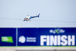 Helicopter and the finish line during 1st Stage of 25th Tour de Slovenie 2018 cycling race between Lendava and Murska Sobota (159 km), on June 13, 2018 in  Slovenia. Photo by Matic Klansek Velej / Sportida