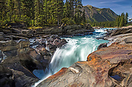 Numa Falls in Kootenay National Park British Columbia, Canada.