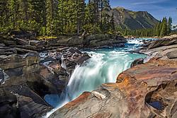 Numa Falls in Kootenay National Park British Columbia, Canada.