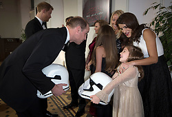 The Duke of Cambridge and Prince Harry attend The European Premiere of Star Wars: The Last Jedi, at the Royal Albert Hall, London, UK, on the 12th December 2017. Picture by Eddie Mulholland/WPA-Pool. 12 Dec 2017 Pictured: Prince William, Duke of Cambridge. Photo credit: MEGA TheMegaAgency.com +1 888 505 6342