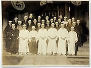 male group portrait vintage Japan