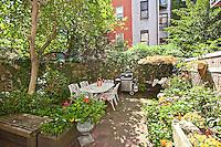 Patio Garden at 334 West 89th Street