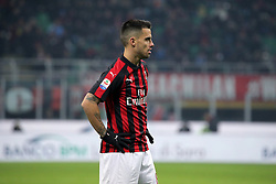 January 26, 2019 - Milan, Milan, Italy - Suso #8 of AC Milan during the serie A match between AC Milan and SSC Napoli at Stadio Giuseppe Meazza on January 26, 2018 in Milan, Italy. (Credit Image: © Giuseppe Cottini/NurPhoto via ZUMA Press)