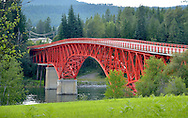 Bridge across the Pend Oreille River