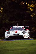 September 4-5, 2020. IMSA Weathertech Road Atlanta 6hr: #912 Porsche GT Team Porsche 911 RSR, GTLM: Earl Bamber, Laurens Vanthoor