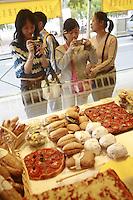 Lyon, France..in the Pignol prepared food shop on Place Bellecour..Lyon's 2nd arrondissement.