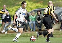 Fotball / Football<br /> La Manga Cup 2007 - Spain<br /> 23.02.2007<br /> Rosenborg v KR Reykjavik Island 1-0<br /> Foto: Morten Olsen, Digitalsport<br /> <br /> Michael Jamtfall - RBK
