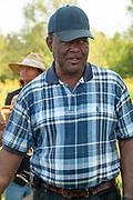 Stanley Hughes of Pine Knott Farm in Orange County, North Carolina.