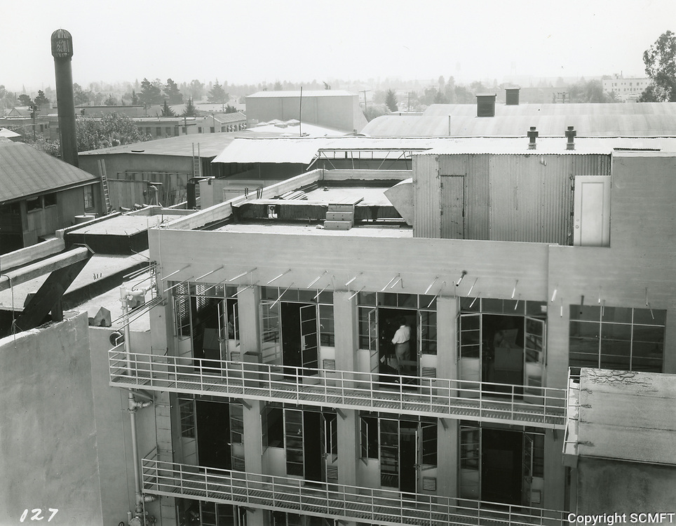 1935 Offices at Columbia Studios