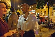 PHOTOGRAPHER: MATTHEW KILLICK, Opening of Blood & Salt Water, Viktor Wynd Fine Art Ltd <br /> Mare Street,London and  various other Galleries Vyner St. 1 October 2009.