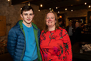 02/04/2019 Repro free:  <br /> Alex Duffy and Florita Dolly PWC at Harvest in the Mick Lally Theatre , an opportunity to share ideas for innovation and growth and discuss how to cultivate the city as a destination for innovation, hosted by GTC  and Sponsored by AIB and The Sunday Business Post .<br />  <br />  Photo: Andrew Downes, Xposure