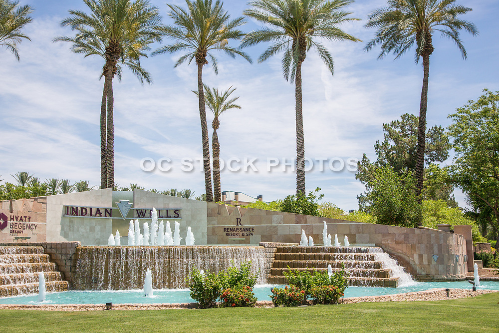 Indian Wells Hyatt Regency and Renaissance Resort & Spa Entrance
