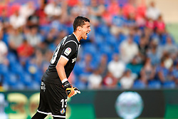August 24, 2018 - David Soria of Getafe during the spanish league, La Liga, football match between Getafe and Eibar on August 24, 2018 at Coliseum Alfonso Perez stadium in Madrid, Spain. (Credit Image: © AFP7 via ZUMA Wire)