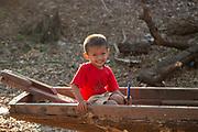 Happy Thai child in rural Thailand