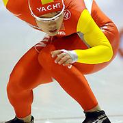 NLD/Heerenveen/20060122 - WK Sprint 2006, 2de 500 meter heren, Fentong Hu