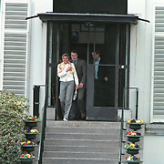 Koninginnedag 2001 Soestdijk, prins Constatijn en Laurentien Brinkhorst