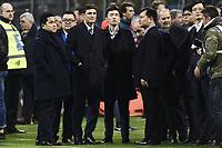 Milano 26-02-2017 Football Calcio serie A 2016/2017 Inter - AS Roma foto Image Sport/Insidefoto <br /> nella foto: Zhang Jindong-Steven Zhang-Erick Thohir-Javier Zanetti