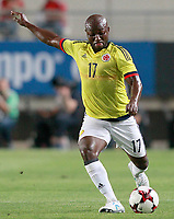 Colombia's Pablo Armero during international friendly match. June 7,2017.(ALTERPHOTOS/Acero)