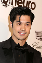 February 24, 2019 - West Hollywood, CA, USA - LOS ANGELES - FEB 24:  Ross Butler at the Elton John Oscar Viewing Party on the West Hollywood Park on February 24, 2019 in West Hollywood, CA (Credit Image: © Kay Blake/ZUMA Wire)