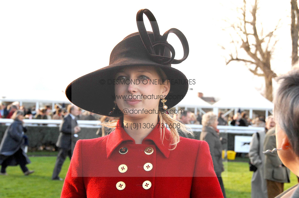 LADY GABRIELLA WINDSOR at the 2007 Hennessy Gold Cup held at Newbury racecourse, Berkshire on 1st December 2007.<br /><br />NON EXCLUSIVE - WORLD RIGHTS
