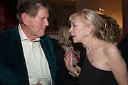COUNTESS SOKOLOFF; JOHN MADEJSKI, Drinks party given by Basia and Richard Briggs,  Chelsea. London. SW3. 13 February 2014.