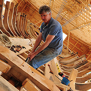 Gundalow II Construction, June 10-15, 2011